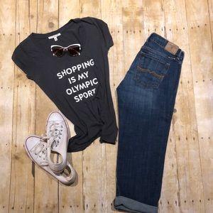 Lucky brand Sweet'N Crop denim jeans 👖